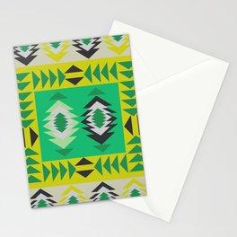 Fresh ethnic decor Stationery Cards