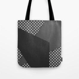 Grey abstract abstract Tote Bag