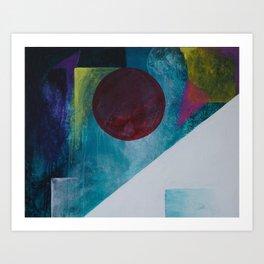 Earthscape on the Moonrise Art Print