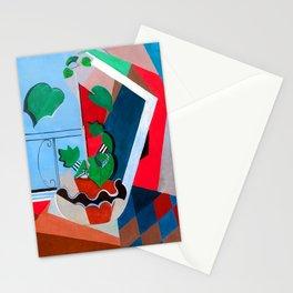 Oskar Moll Still Life with Flowers Stationery Cards