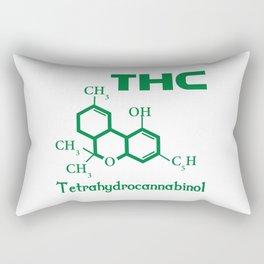 I Love THC Rectangular Pillow