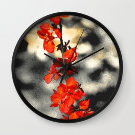 """Blueberry Blooms"" by ICA PAVON Wall Clock"