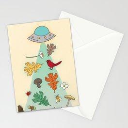 Nature UFO Stationery Cards