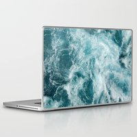 Laptop Skins featuring Sea by Vickn