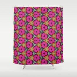 Flower-Caleidoscope Shower Curtain