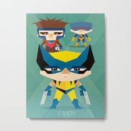 X Men fan art Metal Print