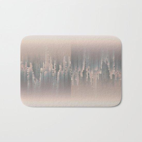 Reversible Space A+B Bath Mat