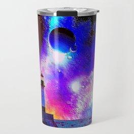 Lighthouse to the stars Travel Mug