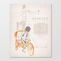 sam smith Canvas Prints featuring Sam by David Fleck