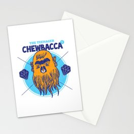 Hipster Chewie Stationery Cards