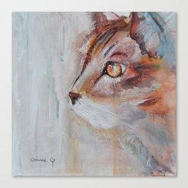 Le chat (the cat) Canvas Print