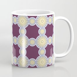 Mitosis Circular Print Seamless Pattern Coffee Mug