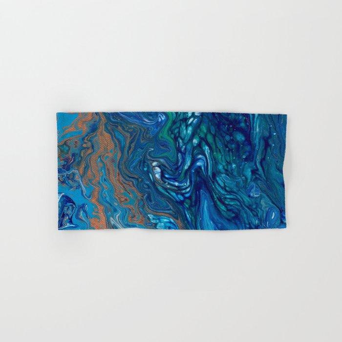 Mermaid Marble Hand & Bath Towel