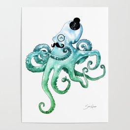 Dapper Octopus Poster