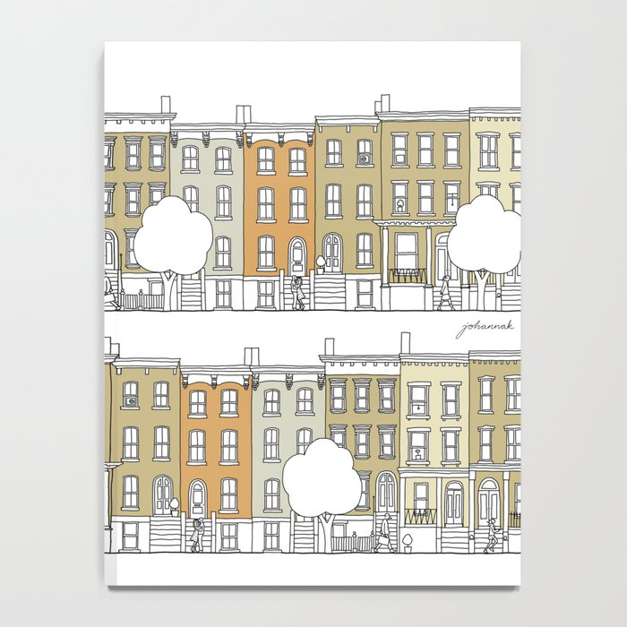 Brooklyn (color) Notebook