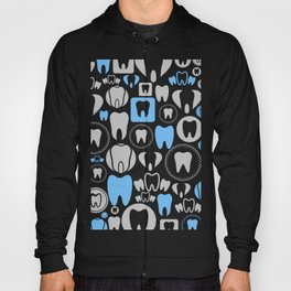 Tooth a background Hoody