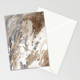 Vanilla Chocolate Sundae Melt Stationery Cards