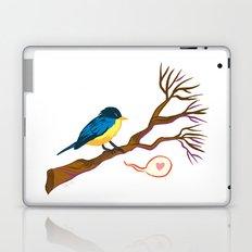 Bird on Branch Laptop & iPad Skin