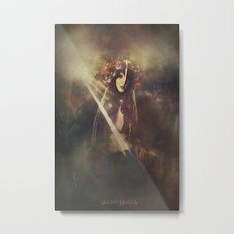The wild huntress Metal Print