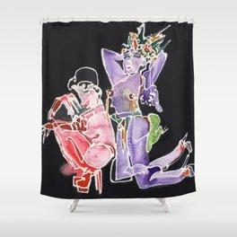 Showgirls Shower Curtain