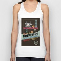 ape Tank Tops featuring Ape not kill ape by Berta Merlotte