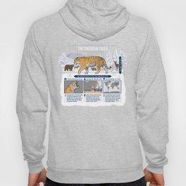 The Wild Ones: Siberian Tiger (info) Hoody