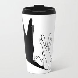 Rabbit Trek Hand Shadow Travel Mug