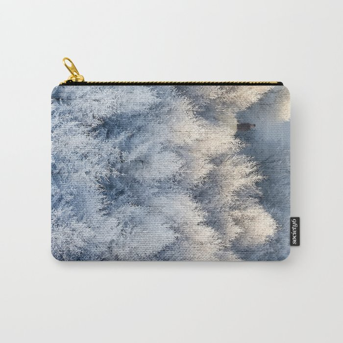 Snow Cottage Carry-All Pouch