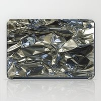 metallic iPad Cases featuring Metallic by Shannice Wollcock