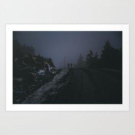 harsh conditions Art Print