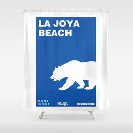La Joya - California. Shower Curtain