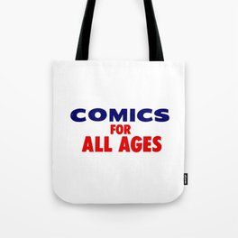 Comics for All Ages Tote Bag