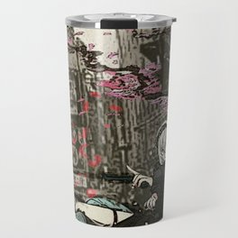 two piece shoot out in neo tokyo... by rmd Travel Mug