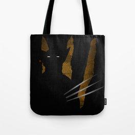 SuperHeroes Shadows : Wolverine Tote Bag