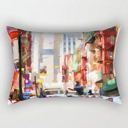 Fujianese Neighborhood Rectangular Pillow