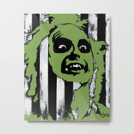 The Gost with the Most Metal Print