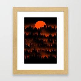 Incendio Framed Art Print