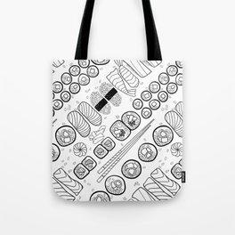 Sushi Coloring Tote Bag