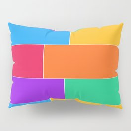Patched Together Pillow Sham