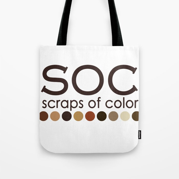 Scraps of Color Traditional T-shirt Tote Bag