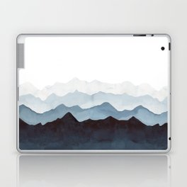 Indigo Mountains Landscape Laptop & iPad Skin