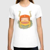 viking T-shirts featuring Viking  by POWW
