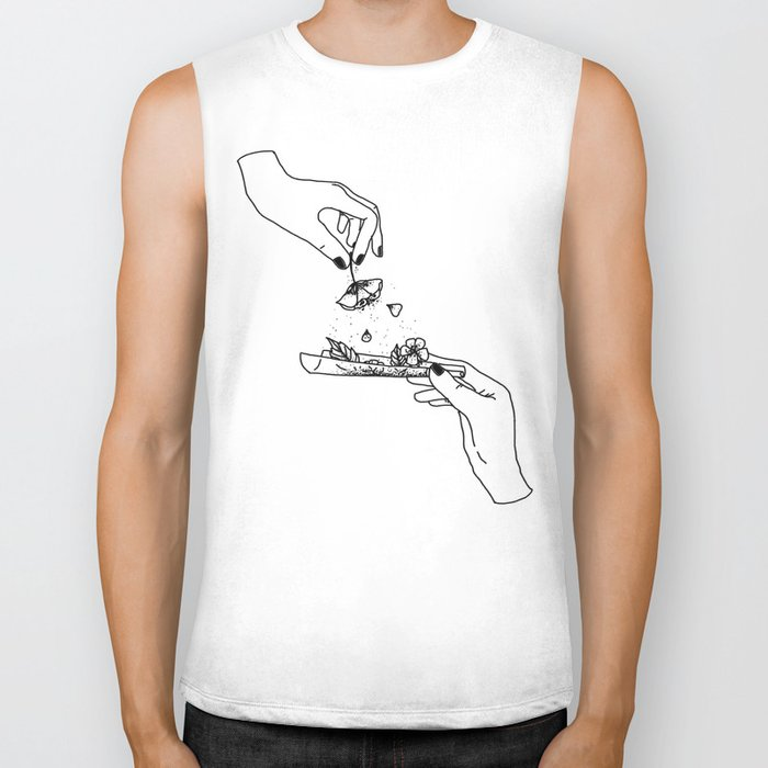 How to roll up your sadness? Biker Tank