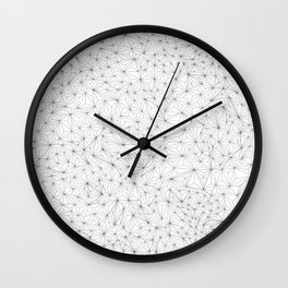 a lot of triangles Wall Clock