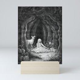 Forest nymph Mini Art Print