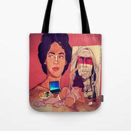 The Artistic Woman Tote Bag