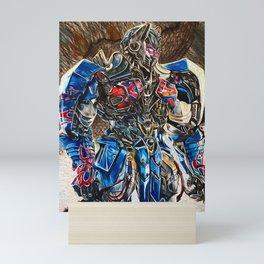 Optimus Prime Mini Art Print