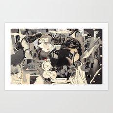 felt self-conscious Art Print