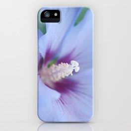 Soft Purple Hibiscus Flower #1 #art #society6 iPhone Case