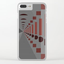 Spacial Thinking Clear iPhone Case